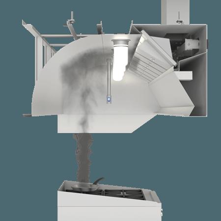 EcoAzur Demand Control Kitchen Ventilation