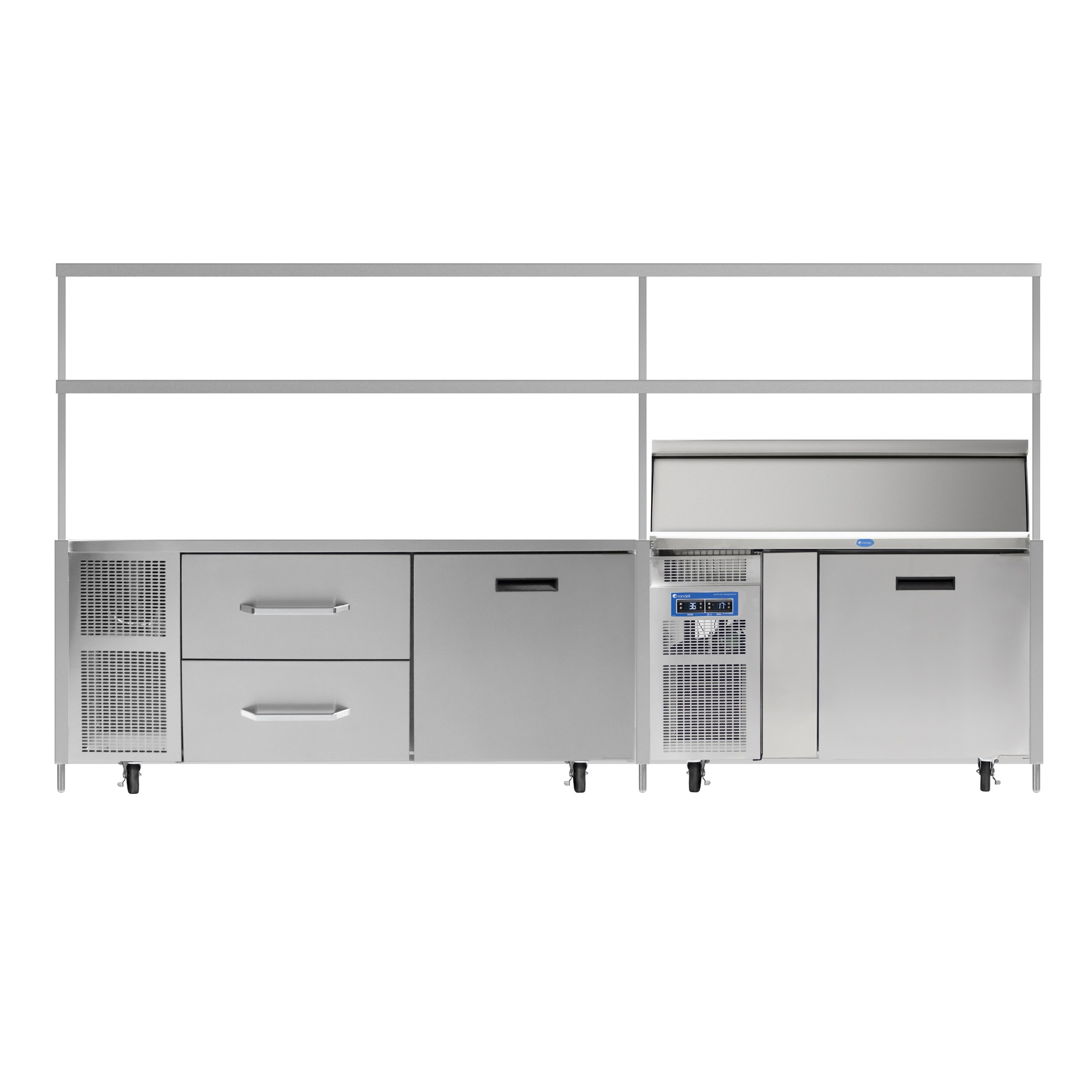 Modular Chef Service Counters